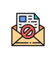 e-mail protection anti-malware spyware trojan vector image