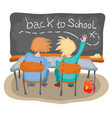 how to go back to school vector image vector image