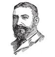 john bassett moore vintage vector image vector image