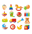 Set of pictures for a kindergarten vector image vector image