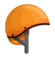 ski helmet icon cartoon style vector image