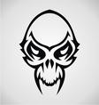 Skulls Tribal vector image vector image