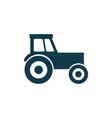 tractor icon concept symbol design vector image vector image