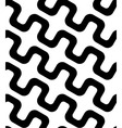 Abstract Black and White Simple Diagonal Square vector image