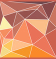 abstract vitrage with triangular multi colors grid vector image vector image