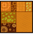 african abstract ornament vector image