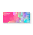 bright colorful banner bright colorful vector image vector image