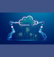 cloudcity vector image vector image