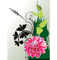 flowers 39 graphic vector image vector image