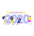 for new year 2020 vector image vector image