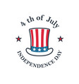 independence day usa 4th july uncle sam vector image vector image