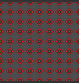 seamless pattern of geometric shapes on a dark b vector image vector image