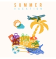 Summer Vacation Concept vector image