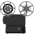 Movie projector vector image