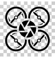 shutter drone icon vector image