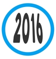 2016 Perspective Icon vector image