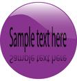 button - vector image