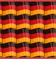 german flag seamless wrapping pattern vector image vector image