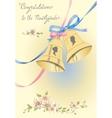 Greeting wedding card vector image vector image