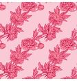 pink flowers 2 380 vector image vector image