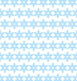 Seamless background of blue snowflakes vector image vector image