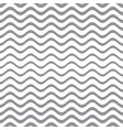 seamless gradient wavy line pattern vector image vector image