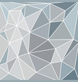abstract vitrage with triangular gray scale grid vector image vector image