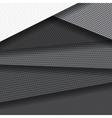 Background of several carbon fiber patterns vector image vector image