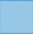 blue square checkered background or texture vector image
