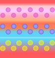 Colored balls vector image