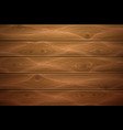 realistic wooden timber background texture vector image vector image