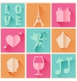 Retro Love Background vector image vector image
