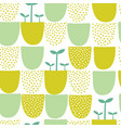 seamless minimal scandinavian pattern with vector image vector image