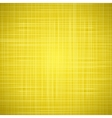 Yellow cloth texture background vector image vector image