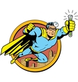 Retro Classic Super Doctor vector image