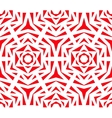 Abstract Red Rose Pattern vector image