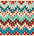christmas trees seamless pattern in a patchwork vector image