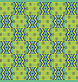 cloth kentegeometric seamless pattern vector image