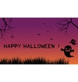 Halloween backgrounds ghost scary vector image vector image
