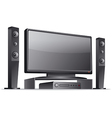 home theater vector image