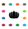 isolated halloween icon plant element can vector image vector image