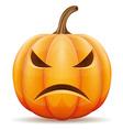 pumpkin 03 vector image vector image