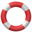 ring buoy isolated vector image vector image