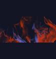 smoke fire effect banner background