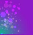 violet blue bokeh gradient background vector image vector image