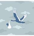 stork bears the kid vector image