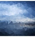 Abstract polygonal background Background vector image vector image