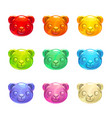 cute jelly bears faces