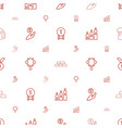 gold icons pattern seamless white background vector image vector image