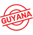 Guyana rubber stamp vector image